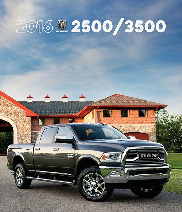 2016 Ram 2500/3500